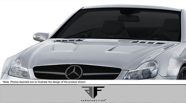 Aero Function 108026: 2003-2012 Mercedes SL Class R230 AF-Signature 2 Series Conversion Hood ( GFK ) - 1 Piece