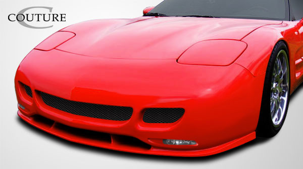 Couture 108122 | Chevrolet Corvette C5 Couture TS Edition Front Lip Under Spoiler Air Dam 1-Piece; 1997-2004