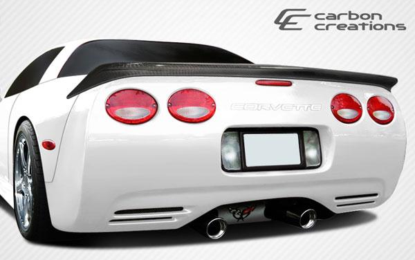 Carbon Creations 108124 | 1997-2004 Chevrolet Corvette C5 Carbon Creations AC Edition Rear Wing Trunk Lid Spoiler - 1 Piece