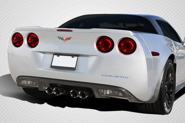 Carbon Creations (108163) 2005-2013 Chevrolet Corvette C6 Carbon Creations ZR Edition Rear Diffuser - 1 Piece