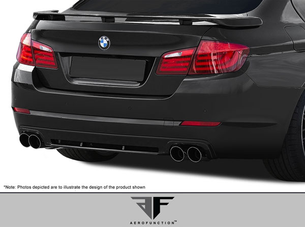 Aero Function 108172: 2011-2016 BMW 5 Series F10 4DR AF-2 Trunk Spoiler ( GFK ) - 1 Piece
