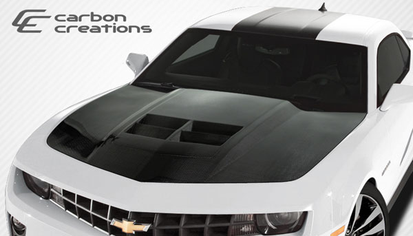 Carbon Creations (108186) 2010-2015 Chevrolet Camaro Carbon Creations ZL1 Look Hood - 1 Piece