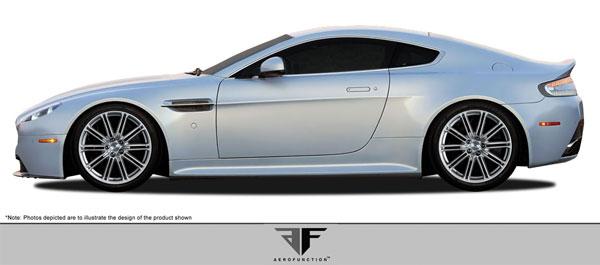 Aero Function 108189    Aston Martin Vantage AF-1 Side Skirts ( GFK ) 2-Piece; 2006-2016
