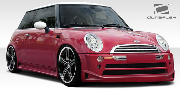 Duraflex 108321 | Mini Cooper Duraflex Type Z Wide Body Kit 10-Piece; 2002-2006