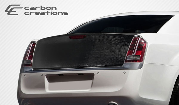 Carbon Creations 108327 | Chrylser 300 Carbon Creations OEM Trunk 1-Piece; 2011-2016