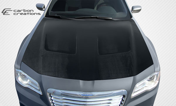 Carbon Creations 108329 | Chrysler 300 Carbon Creations Brizio Hood 1-Piece; 2011-2016