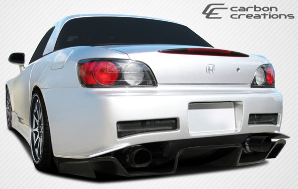 Carbon Creations (108334) 2000-2009 Honda S2000 Carbon Creations SP-N Rear Diffuser - 1 Piece