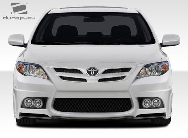 Duraflex 108398 | Toyota Corolla Duraflex W-1 Front Bumper Cover 1-Piece; 2011-2013