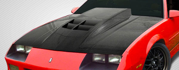 Carbon Creations 108415 | Chevrolet Camaro Carbon Creations ZL1 Look Hood 1-Piece; 1982-1992