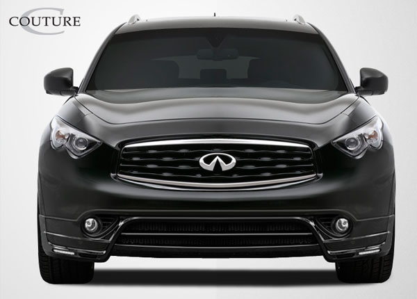 Couture 108423: 2009-2011 Infiniti FX35 FX50 QX70  MZ-S Front Lip Under Spoiler Air Dam - 1 Piece