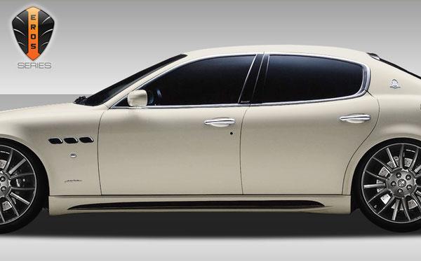 Duraflex 108433 |  Maserati Quattroporte Eros Version 1 Side Skirts Rocker Panels 2-Piece; 2005-2007
