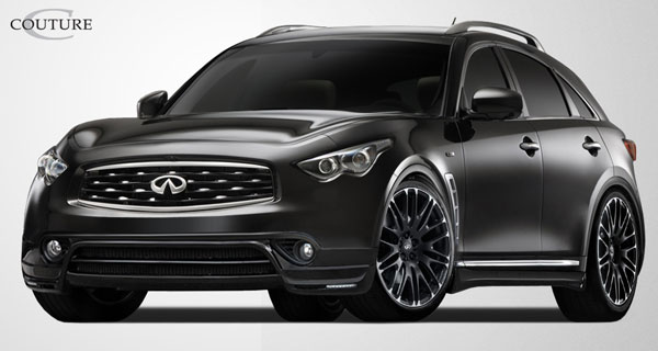 Couture 108455 | 2009-2011 Infiniti FX Couture MZ-S Body Kit - 4 Piece