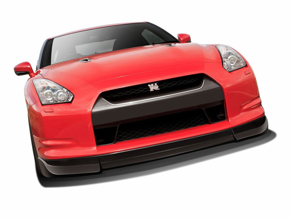Aero Function 108529: 2009-2011 Nissan GT-R R35 AF-2 Front Add-On Spoiler ( GFK ) - 1 Piece