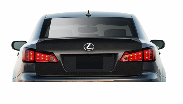 Aero Function 108538 |  2006-2013 Lexus IS Series IS250 IS350 IS250C IS350C Carbon AF-1 Trunk Lid ( CFP ) - 1 Piece