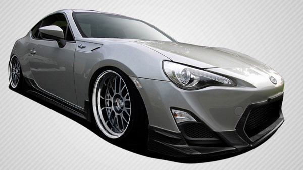 Carbon Creations 108545: 2013-2016 Scion FR-S Carbon Creations TD3000 Body Kit - 4 Piece