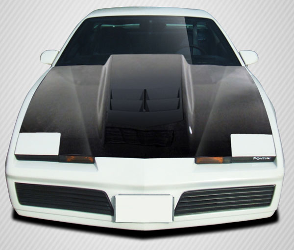 Carbon Creations 108546 | Pontiac Firebird Carbon Creations ZL1 Look Hood 1-Piece; 1982-1992