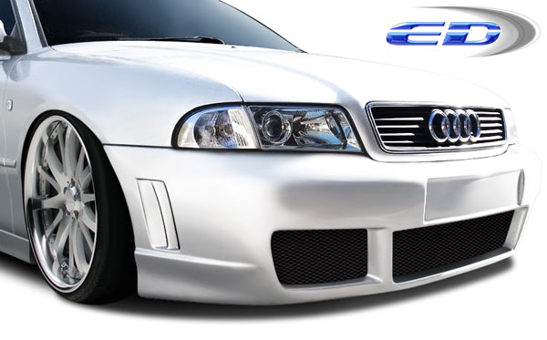 Extreme Dimensions 108573: 1996-2001 Audi A4 S4 4DR Wagon Polyurethane R-1 Front Bumper Cover - 1 Piece