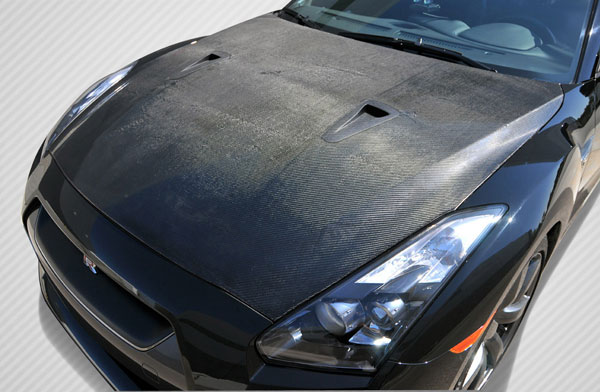 Carbon Creations (108586) 2009-2015 Nissan GT-R R35 Carbon Creations OEM Hood - 1 Piece