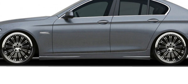Aero Function 108604: 2011-2016 BMW 5 Series F10 4DR AF-3 Side Skirts ( PUR-RIM ) - 2 Piece