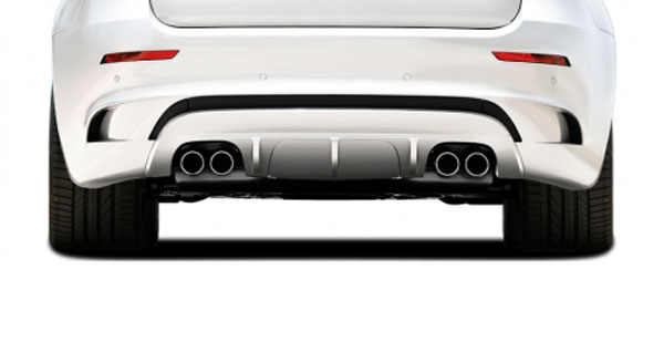 Aero Function 108613: 2008-2014 BMW X6 E71 E72 AF-4 Rear Diffuser ( GFK ) - 1 Piece