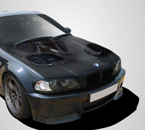 Carbon Creations 108630: 1999-2006 BMW 3 Series E46 2DR  GTR Hood - 1 Piece