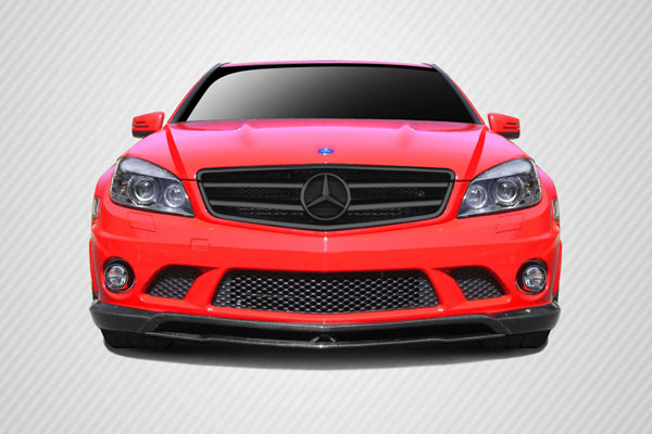 Carbon Creations 108687 | Mercedes C63 W204 Carbon Creations CR-S Front Lip Under Spoiler Air Dam 2-Piece; 2008-2011