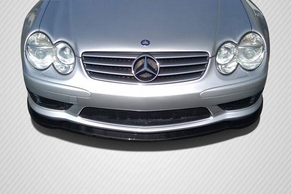 Carbon Creations 108697 | Mercedes SL Class AMG R230 Carbon Creations L-Sport Front Under Spoiler Air Dam 1-Piece; 2003-2006