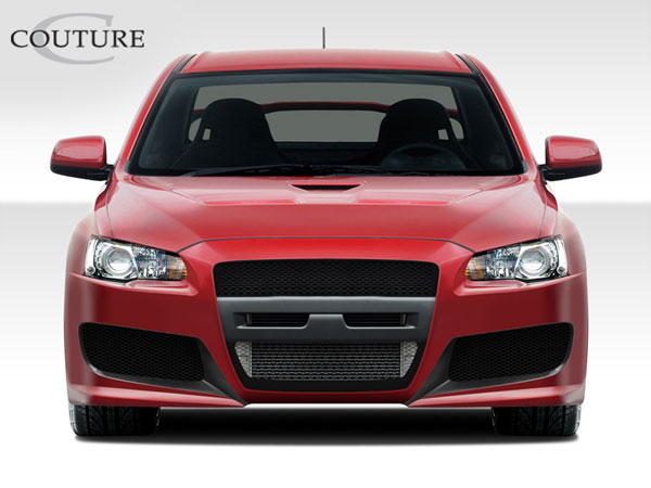 Couture 108730 | Mitsubishi Lancer Evolution Couture C-Speed Front Bumper Cover 1-Piece; 2008-2015
