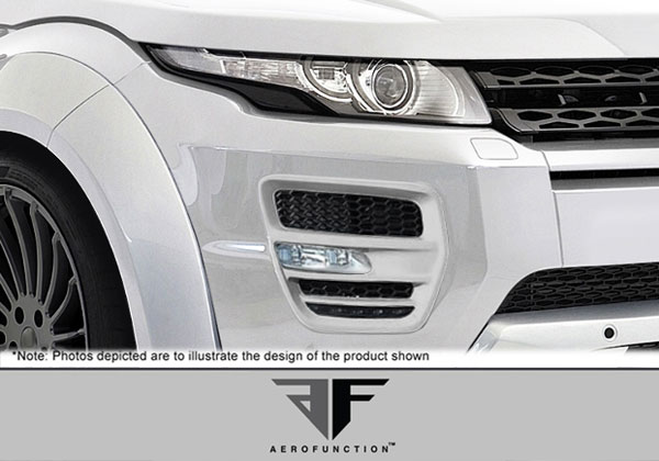 Aero Function 108734: 2012-2015 Land Rover Range Rover Evoque AF-1 Light Housings ( GFK ) - 2 Piece