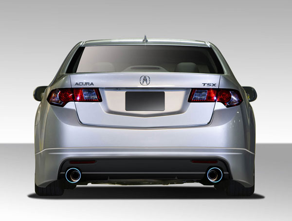 Duraflex (108765) 2009-2014 Acura TSX Duraflex Type M Rear Lip Under Spoiler Air Dam - 1 Piece