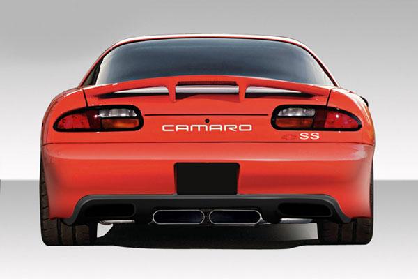 Duraflex 108842   1993-2002 Chevrolet Camaro Duraflex ZR Edition Rear Bumper Cover - 1 Piece