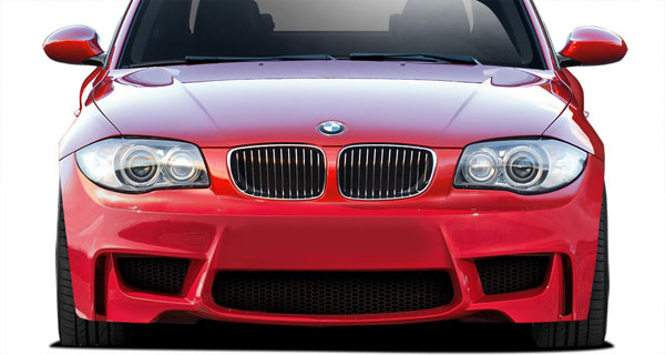 Aero Function 108856: 2008-2013 BMW 1 Series E82 E88 AF-1 Front Bumper Cover ( GFK ) - 1 Piece