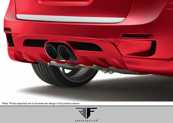 Aero Function 108867: 2011-2014 Porsche Cayenne AF-3 Widebody Exhaust ( Metal ) - 1 Piece