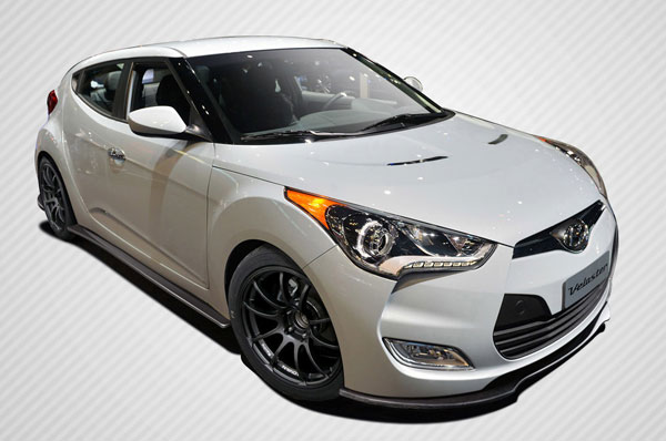 Carbon Creations 108899: 2012-2016 Hyundai Veloster Carbon Creations GT Racing Body Kit - 5 Piece