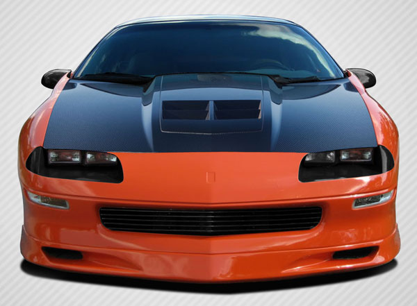 Carbon Creations 108904: 1993-1997 Chevrolet Camaro Carbon Creations ZL1 Look Hood - 1 Piece
