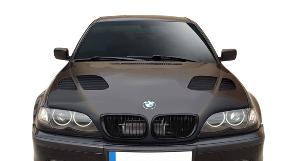 Aero Function 108918:  2002-2005 BMW 3 Series 4DR E46 AF-2 Hood ( GFK ) - 1 Piece