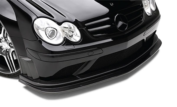 Aero Function 108923: 2007-2009 Mercedes CLK AMG Black Series W209 Carbon AF-1 Front Add-On Spoiler ( CFP ) - 1 Piece