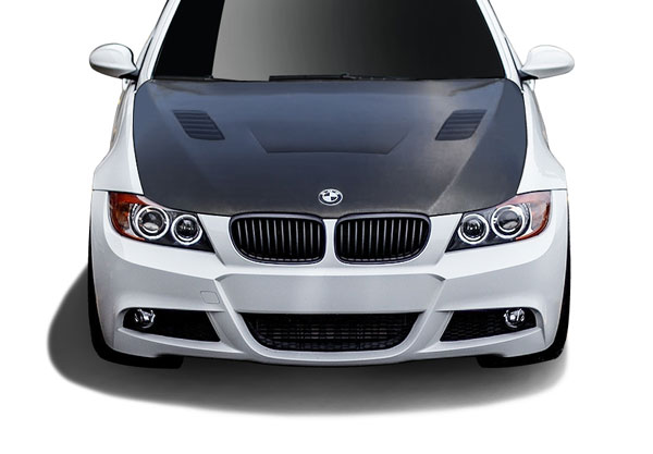 Aero Function 108932: 2007-2010 BMW 3 Series E92 E93 Convertible 2DR Carbon AF-1 Hood ( CFP ) - 1 Piece