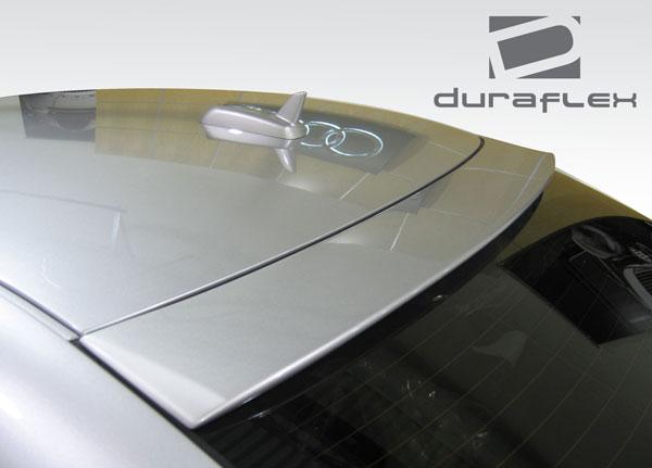 Duraflex 108961 | Audi A6 S6 4DR Duraflex CT-R Roof Wing Spoiler 1-Piece; 1998-2004