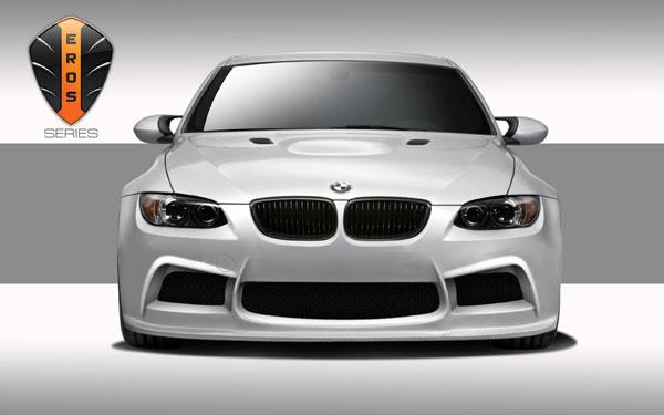 Duraflex 108973 |  2007-2013 BMW M3 E90 E92 E93 Eros Version 1 Front Bumper Cover - 1 Piece