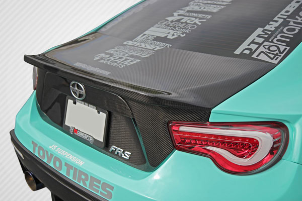 Carbon Creations 109038: 2013-2016 Scion FR-S Subaru BRZ Carbon Creations 86-R Trunk - 1 Piece