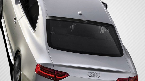 Carbon Creations 109054 | Audi A5 S5 2DR Carbon Creations CR-C Roof Window Wing Spoiler 1-Piece; 2008-2016