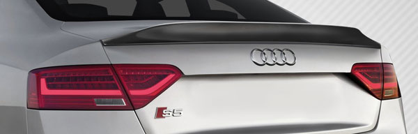 Carbon Creations 109056 | Audi A5 S5 2DR Convertible Carbon Creations CR-C Wing Trunk Lid Spoiler 1-Piece; 2008-2016