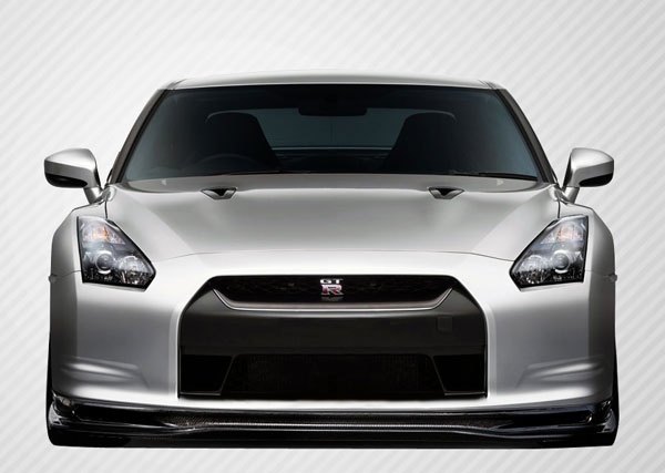 Carbon Creations (109067) 2009-2011 Nissan GT-R R35 Carbon Creations Eros Version 5 Front Lip Under Spoiler Air Dam - 1 Piece