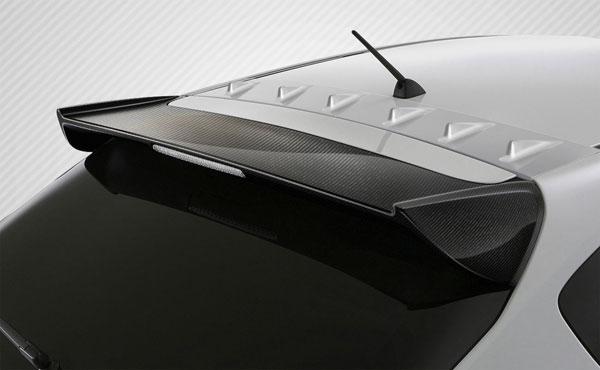 Carbon Creations 109084 | Subaru Impreza 5DR Subaru WRX STI 5DR Carbon Creations STI Look Rear Wing Trunk Lid Spoiler 1-Piece; 2008-2014