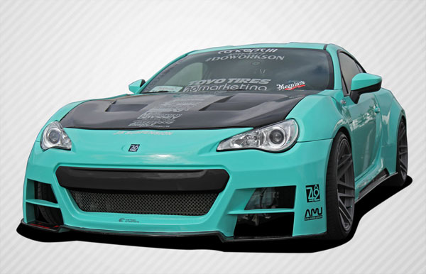 Carbon Creations (109046) 2013-2016 Scion FR-S Subaru BRZ Carbon Creations 86-R Wide Body Kit - 8 Piece