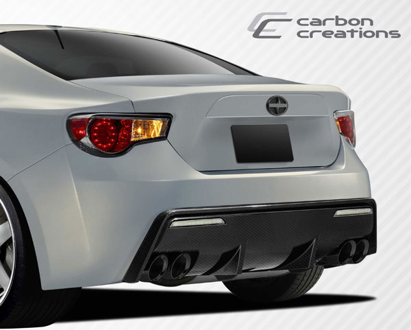 Carbon Creations 109111: 2013-2016 Scion FR-S Subaru BRZ  86-R Rear Bumper Cover - 1 Piece