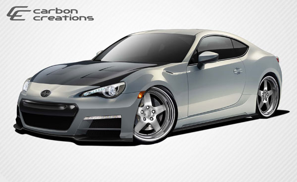 Carbon Creations 109114: 2013-2016 Scion FR-S Subaru BRZ Carbon Creations 86-R Body Kit - 6 Piece