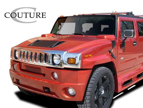 Couture 109169 | Hummer H2 Couture Vortex Wide Body Front Bumper 1-Piece; 2003-2009