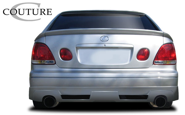 Couture 109176 | 1998-2005 Lexus GS Series GS300 GS400 GS430 Couture Vortex Rear Lip Under Spoiler Air Dam - 1 Piece
